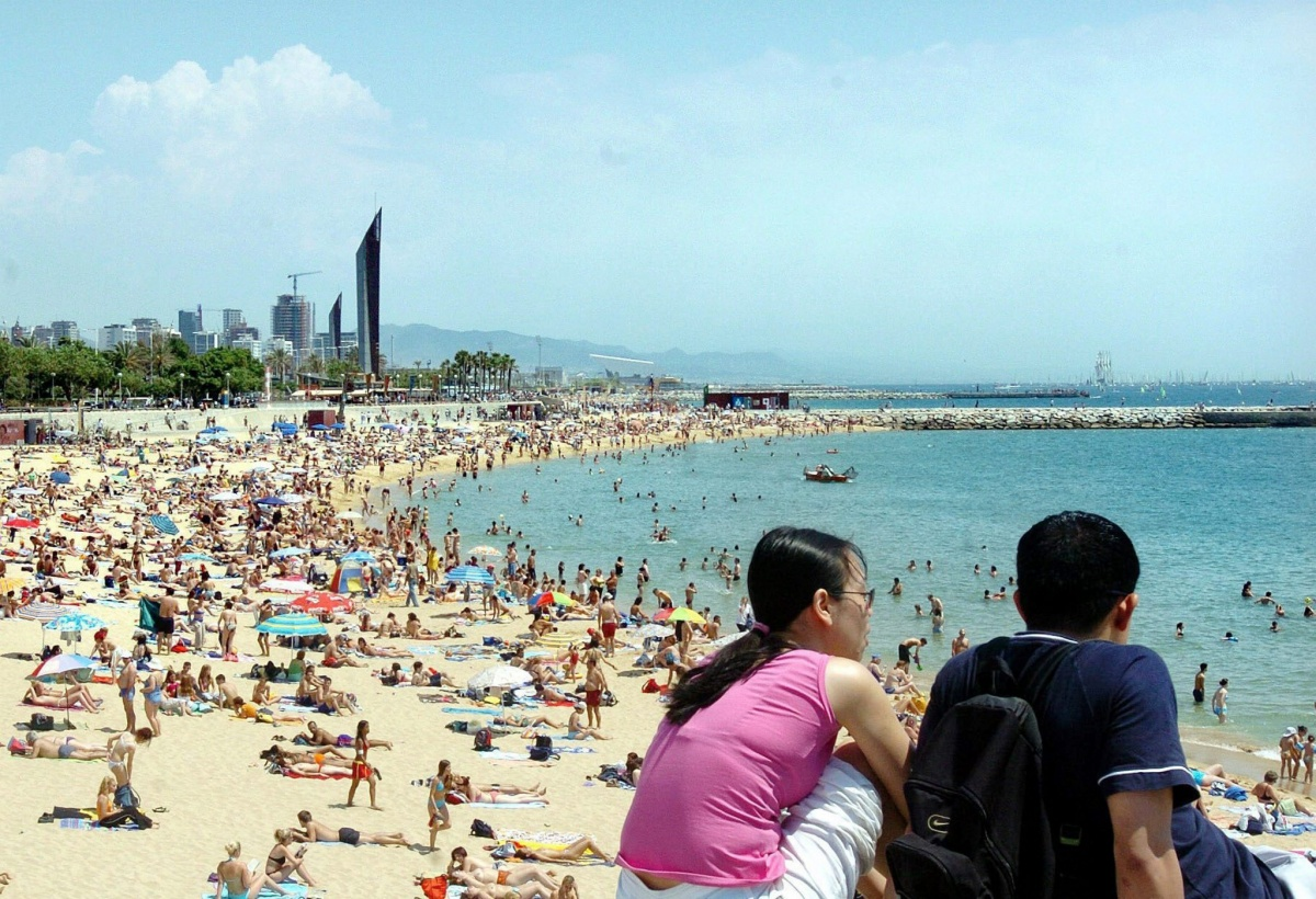 Spain Barcelona Beach
