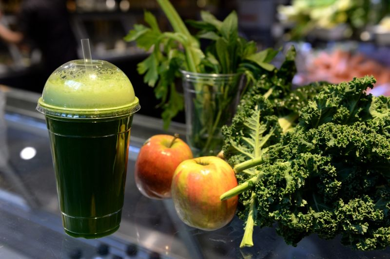 Healthy smoothie. Source: AAP.