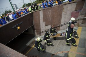 Moscow train derailment