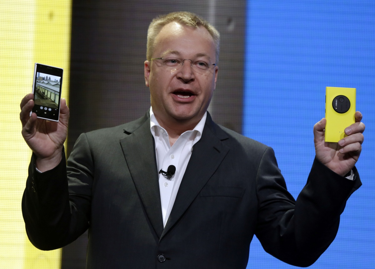 Microsoft's Stephen Elop