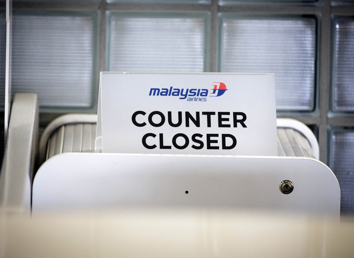 Double blow for Malaysian Airlines. Source: AAP.