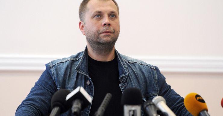 Rebel Prime Minister Alexander Borodai has handed over black boxes. Source: AAP.