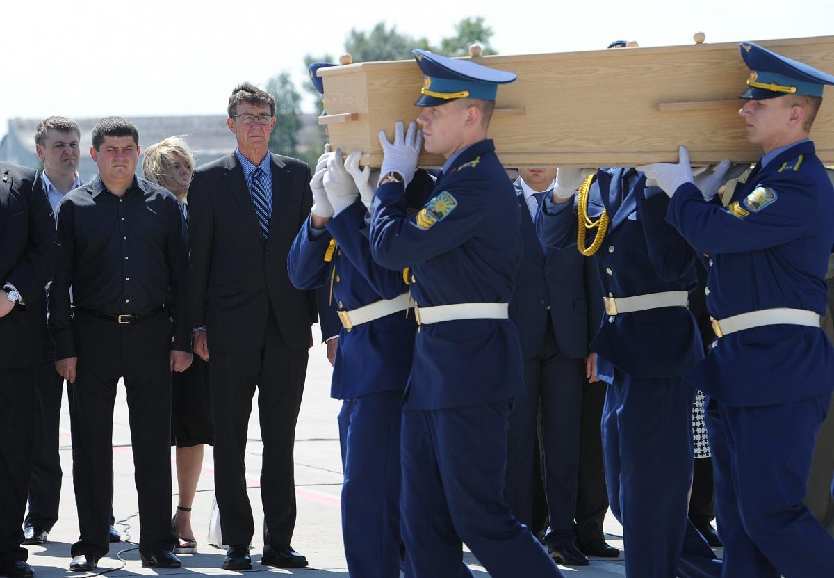MH17 bodies
