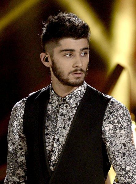 One Direction band member Zayn Malik.