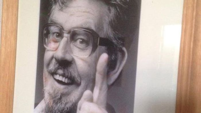 The portrait of Rolf Harris hanging in the Broken Hill Civic Centre has been removed after he was found guilty of indecent assault charges.