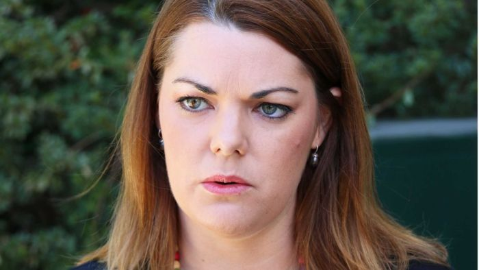 Greens Senator Sarah Hanson-Young says the decision to deny her access to the centre is a political one.