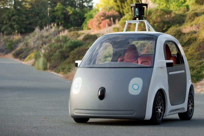 Google's latest self-driving car prototype. Source: AAP.