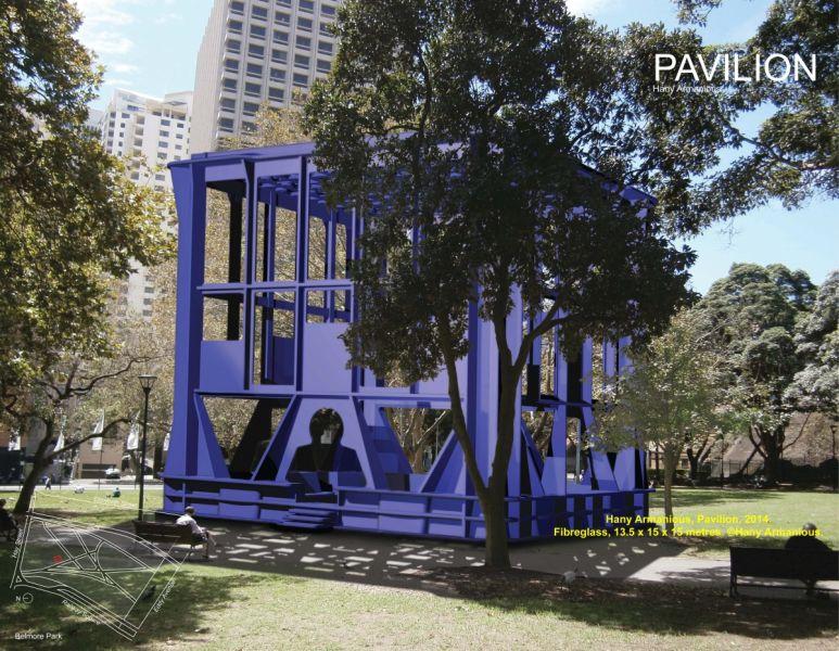 IMAGE - City Centre Public Art - Pavilion, by Hany Armanious