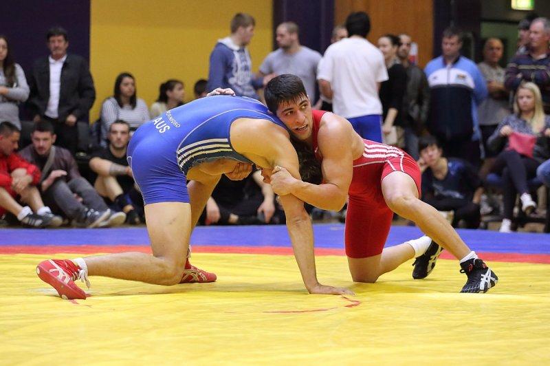 Wrestler and Iranian asylum seeker Mohamadreza Ashori. Source: Hus Erzurumlu.