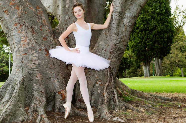 Ballerina Imogen Chapman. Source: Supplied.