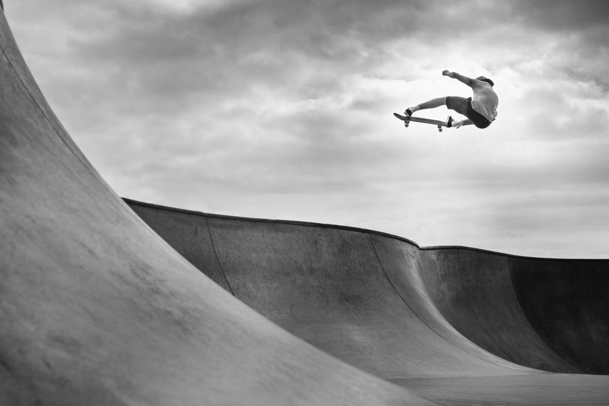 Skateboarding image by Jackson Loriav