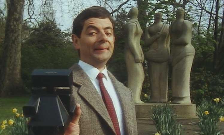 Mr-Bean-selfie