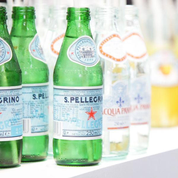 Sparkling water. Source: AAP.