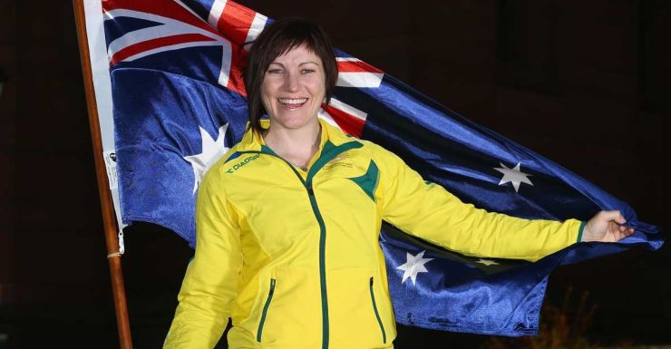 Anna Meares will carry the flag for Australia in Glasgow.