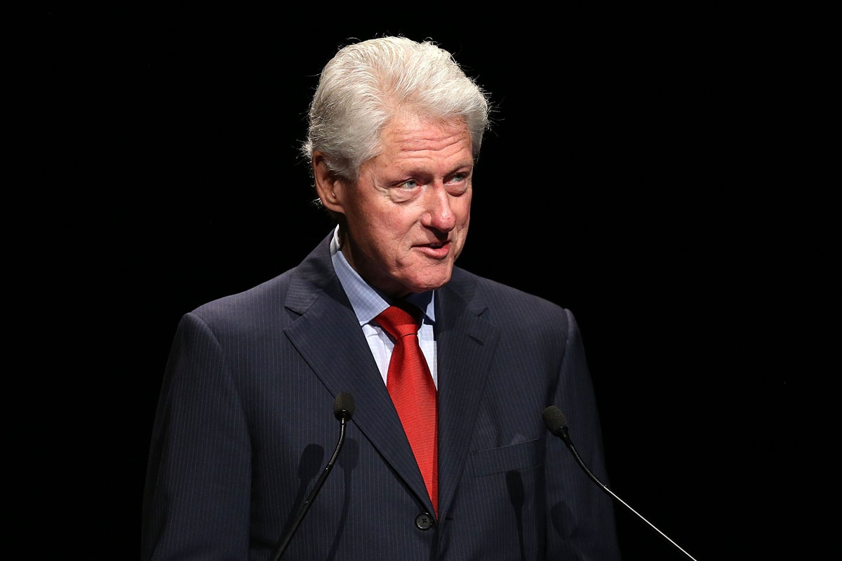 Bill Clinton praised Julie Bishop's performance.