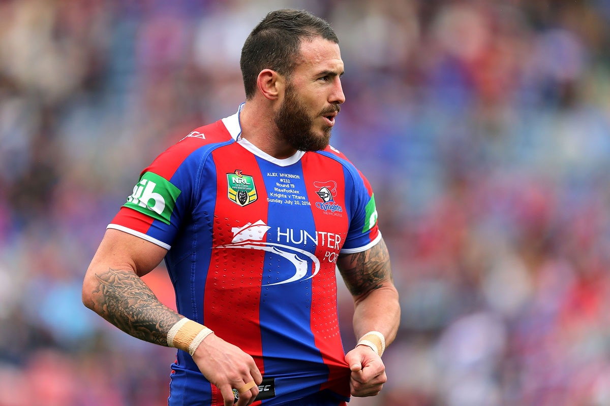 Darius Boyd is sidelined from rugby league indefinitely.