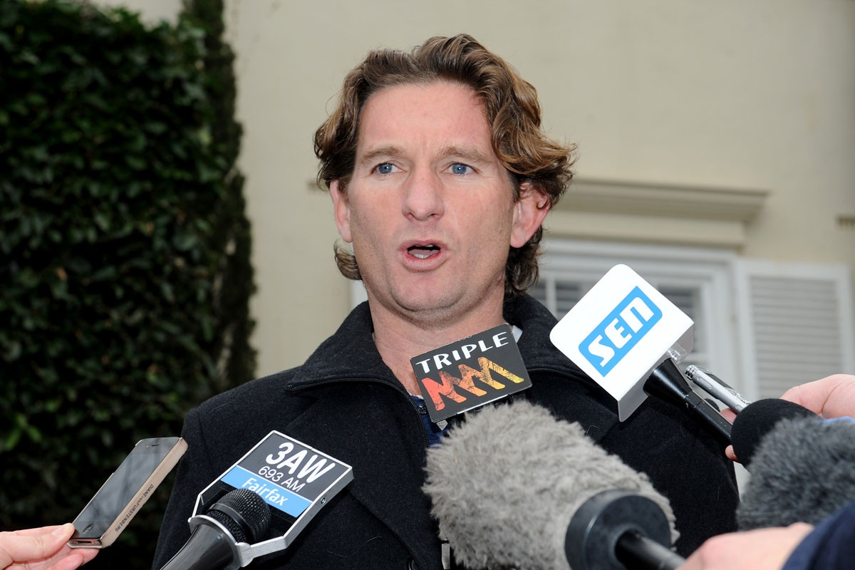 James Hird is tipped to be given a match day role.