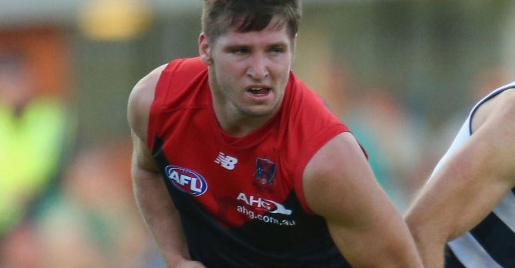Jesse Hogan has signed a long-term deal with Melbourne.