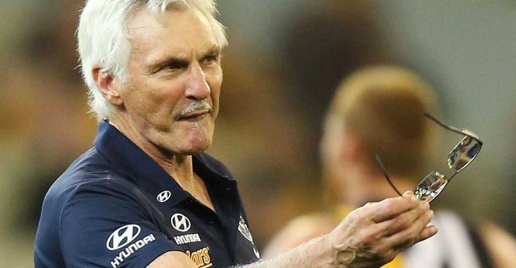 Malthouse vents his spleen - this time at one of his players.
