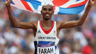 Mo Farah double double gold