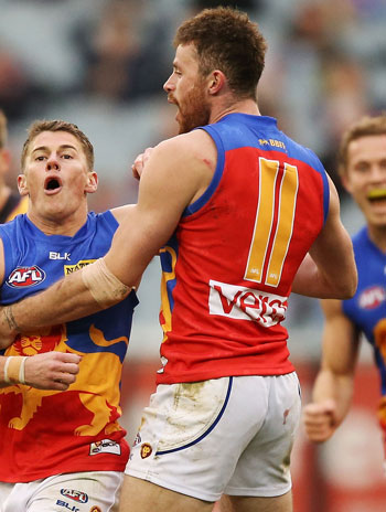 Could Pearce Hanley be the best Irishman to play in the AFL? Photo: Getty