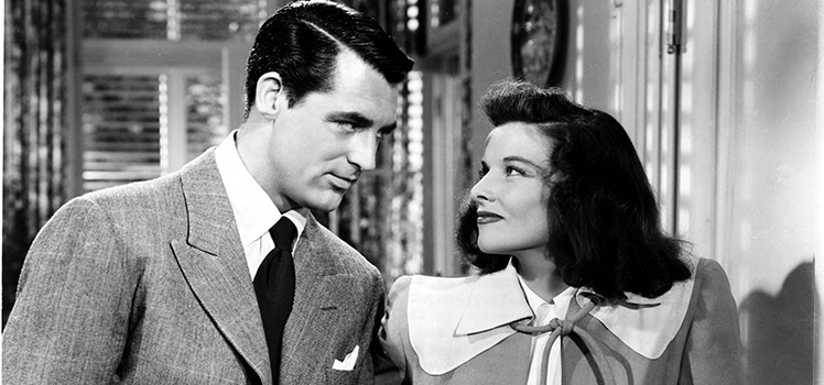 Cary Grant and Katherine Hepburn. Photo: AAP