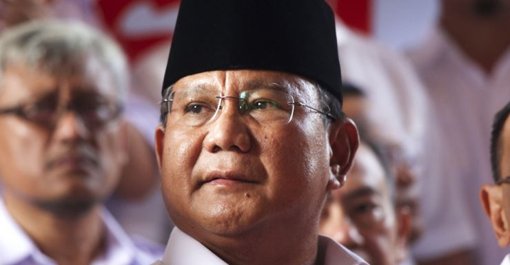 Prabowo blasted the Indonesian election as 'legally tainted'.