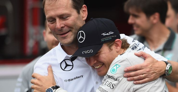 Nico Rosberg after extending his championship lead.