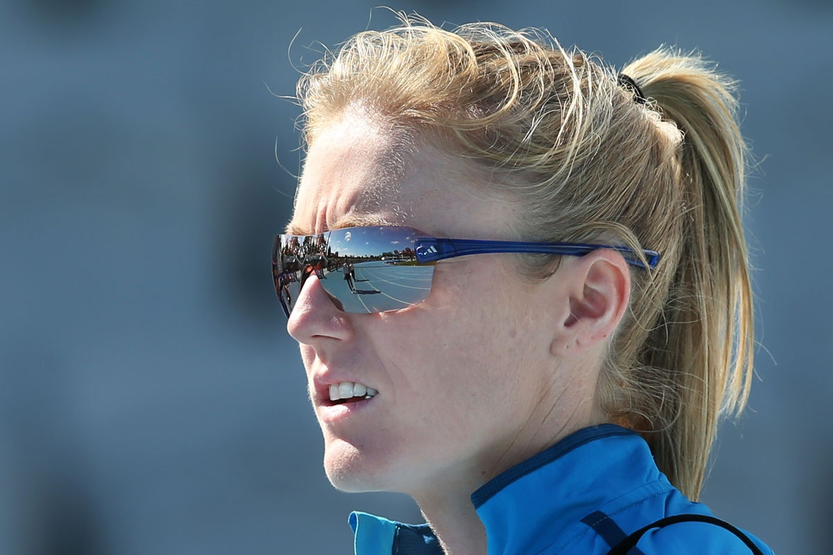 Sally Pearson is recovering from a hamstring injury.