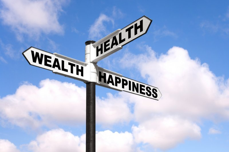 Wealth leads the way to good health. Source: Shutterstock.