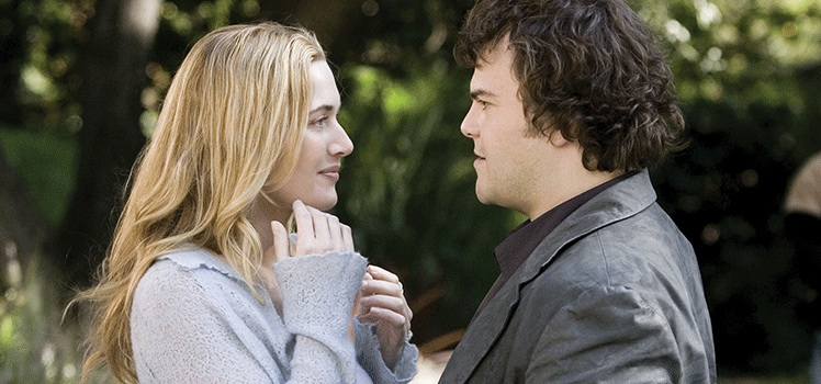 The Holiday: Kate Winslet and Jack Black. Photo: AAP