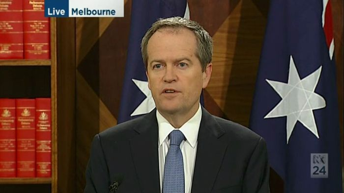 Bill Shorten says his name has been cleared