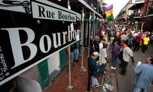 Swinging Bourbon Street.