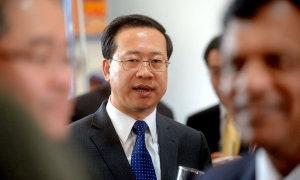 Chinese ambassador Ma Zhaoxu.
