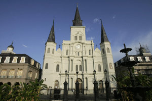 St Louis Cathedral.