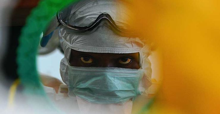 Ebola has killed 1220 people since it emerged in southern Guinea. pic: Getty