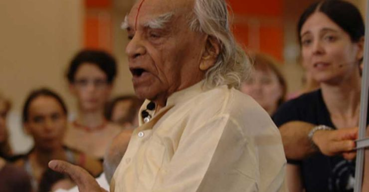 BKS Iyengar took the ancient practice of yoga to the world.
