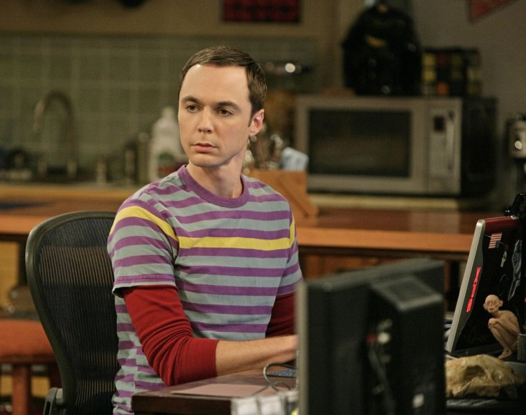 Jim Parsons in 'The Big Bang Theory'