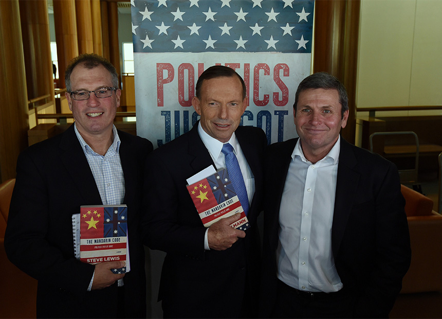 Mandarin Code Tony Abbott