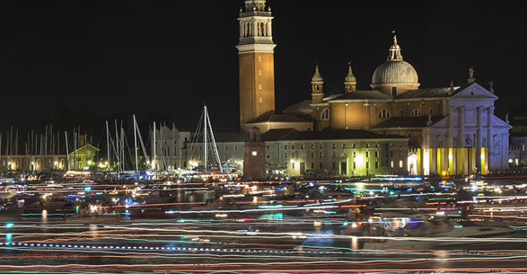 Long exposure photography in Venice