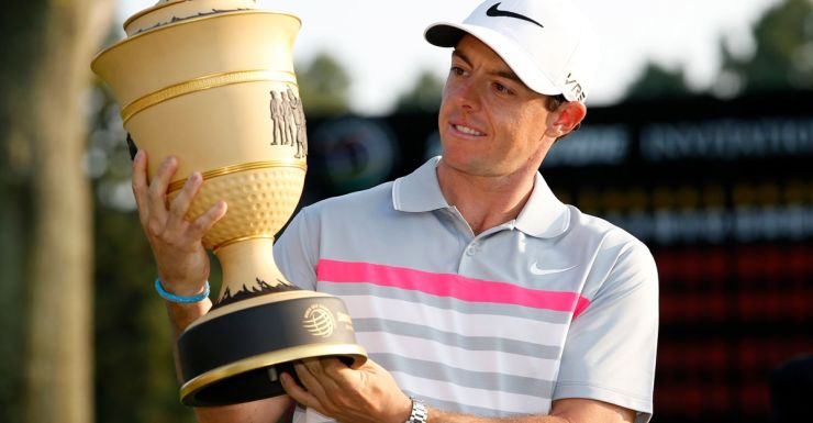 Rory McIlroy is back on top of world golf.