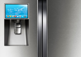 Smart fridges could threaten home security.