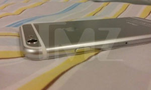 A leaked shot of the iPhone 6 from TMZ.com.