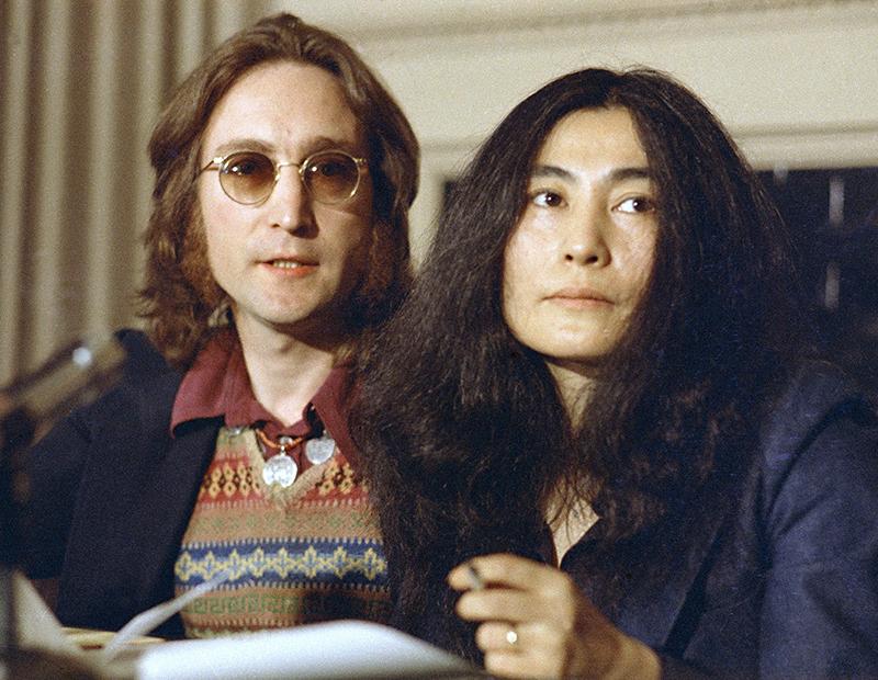 John Lennon's hair auctioned