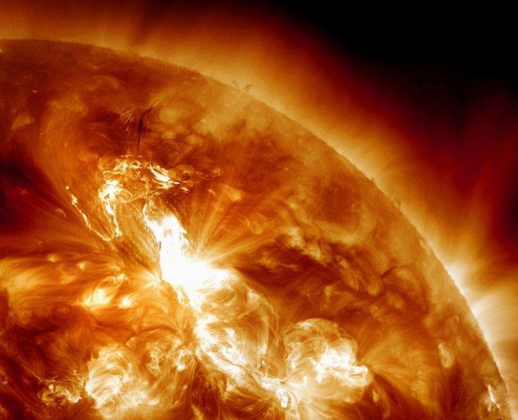 Sun solar flare