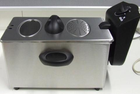 Abode 3L Stainless Steel Deep Fryer