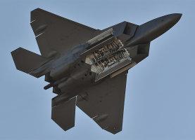 A US Air Force F-22 Raptor
