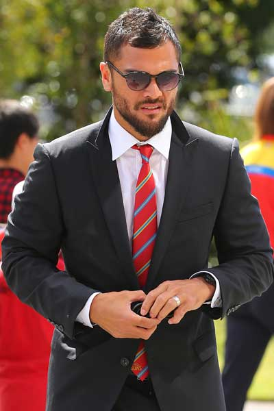Dressed for business: Karmichael Hunt will join Super Rugby club the Queensland Reds. Photo: Getty