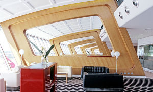 Fancy a spell in the Qantas First Class lounge?