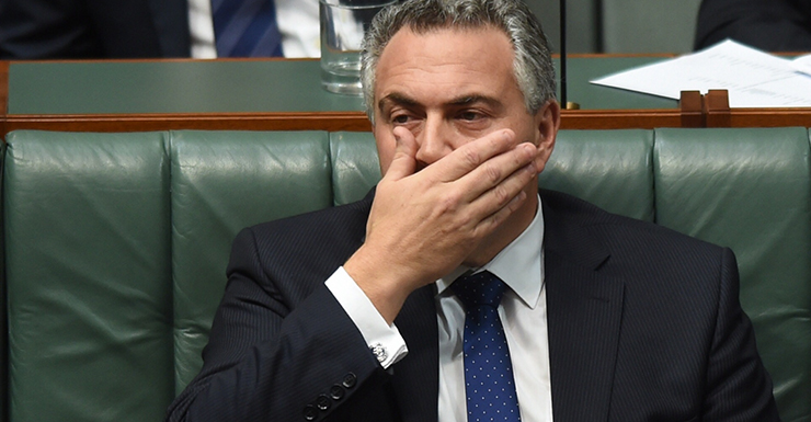 Federal Treasurer Joe Hockey.